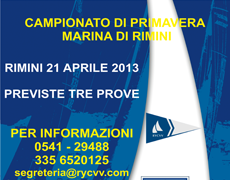 CAMPIONATO PRIMAVERA &#8211; 21 APRILE