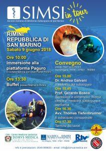 Sabato 9 di giugno a Rimini